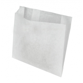 FRENCH FRY BAG, WHITE, GREASE-RESISTANT, 5 X 1.5 X 4.5 (2000)