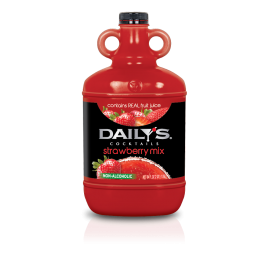 DAILY'S® STRAWBERRY MARGARITA / DAIQUIRI MIX, 1/2 GALLON JUG (EACH)