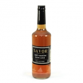 SAVOR IMPORTS DIRTY MARTINI MIX, 750ML GLASS BOTTLE - SOLD INDIVIDUALLY