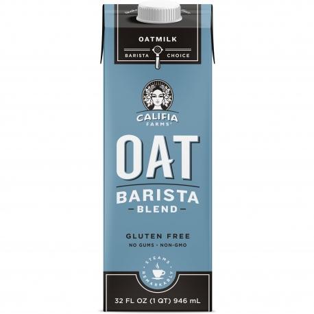 CALIFIA FARMS BARISTA BLEND OAT MILK - SOLD PER CASE OF 6/32 OZ CARTONS