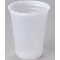 CUP, PLASTIC, TRANS, 16 OZ, P1