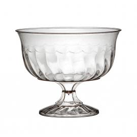 FINELINE 8 OZ 1-PIECE DESSERT PLASTIC CUP, FLAIRWARE, 2088 (240)