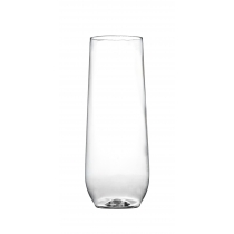 CUP, PLASTIC, 10 OZ CHAMPAGN