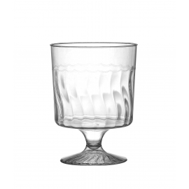 FINELINE 5.5 OZ, 1-PIECE WINE GLASS WITH SHORT STEM, FLAIRWARE, 2205 (240)