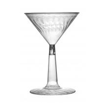 CUP, PLASTIC, 6 OZ, MARTINI, 2