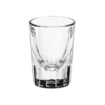 WHISKEY, 1.25 OZ SHOT FLUTED (