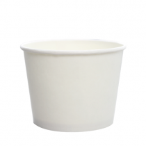 CONTAINER, PAPER, 12 OZ, WHITE