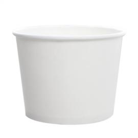 KARAT 16 OZ WHITE HOT/SOUP PAPER CONTAINER (1,000)