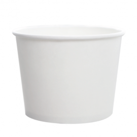 KARAT 16 OZ WHITE HOT/SOUP PAPER CONTAINER, C-KDP16W (1000/CS)