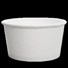 KARAT 24 OZ WHITE HOT/SOUP PAPER CONTAINER, C-KDP24W (1000/CS)