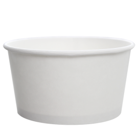 KARAT 24 OZ WHITE HOT/SOUP PAPER CONTAINER, C-KDP24W (600/CS)