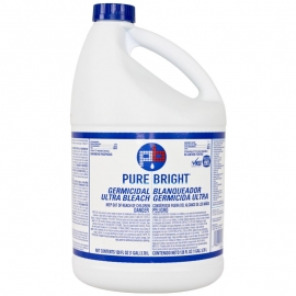 PURE BRIGHT BLEACH  1 GALLON BOTTLES  (6/CS)