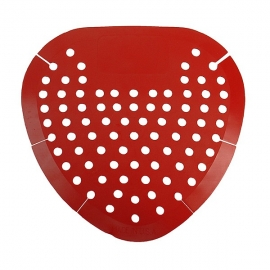 FLAT URINAL SCREEN, CHERRY SCENTED (12/CS)
