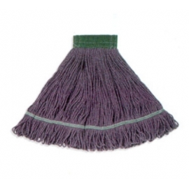 LARGE BLUE COTTON MOP HEAD, LOOPED-END (EACH)
