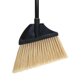 "O'CEDAR 13"" ANGLE BROOM, W/FLAGGED BRISTLES, MAXI-PLUS® (EACH)"