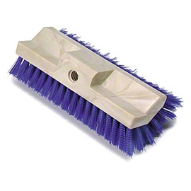 "SYNTHETIC 10"" DECK BRUSH, HEAD ONLY, MULTI-LEVEL (EACH)"