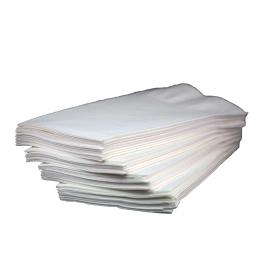 WHITE DINNER NAPKIN, 3-PLY, 1/8 FOLD (2,000)