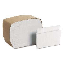 WHITE DISPENSER NAPKIN, 1-PLY, FULL FOLD - 6,000