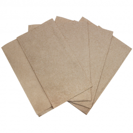 KRAFT DISPENSER NAPKIN, 1-PLY, OFF FOLD (6,000)