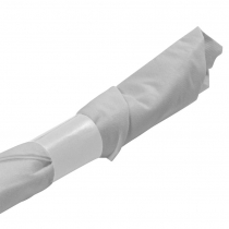 NAPKIN BAND, WHITE,  4.25 X 1