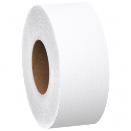 "MORCON TOILET TISSUE PAPER, 9"" ROLL, 2-PLY, WHITE - 12 ROLLS PER CASE"