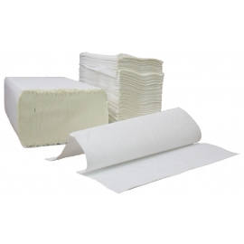 MORCON PAPER TOWEL, MULTIFOLD, 1-PLY, WHITE - 4,000 PER CASE