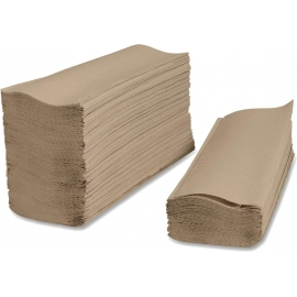 NATURAL PAPER TOWEL, 1-PLY MULTIFOLD (4,000)