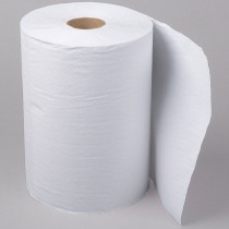 TOWEL, PAPER, ROLL, WHITE 10X