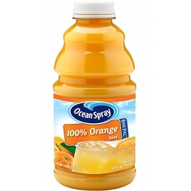 OCEAN SPRAY ORANGE JUICE IN 32 OZ BARPAC, W/ 1-SPOUT/CASE (12)