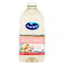 JUICE, WHITE CRANBERRY, 64 OZ