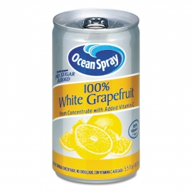 OCEAN SPRAY WHITE GRAPEFRUIT JUICE, 5.5 OZ CANS (48)