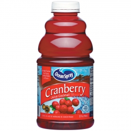 OCEAN SPRAY CRANBERRY JUICE IN 32 OZ BARPAC, W/ 1-SPOUT/CASE (12)