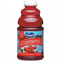 JUICE, CRANBERRY, 32 OZ, BARPA
