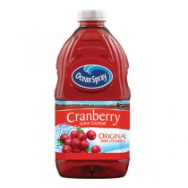 JUICE, CRANBERRY, 60 OZ, PLAST