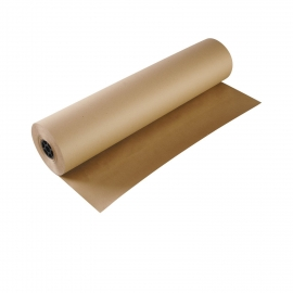 "BUTCHER PAPER, ROLL, KRAFT, 36"" WIDE, 50 LB BASIS WEIGHT"