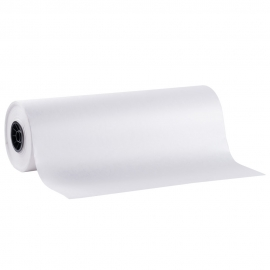 """WHITE BUTCHER PAPER ROLL, 18"""" WIDE (EACH)"""