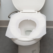 PAPER, TOILET SEAT COVER, 1/2
