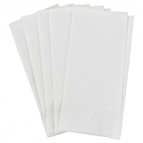 GUEST TOWEL, WHITE, LINEN LIKE