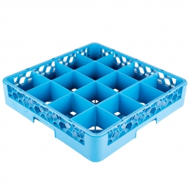 "CARLISLE GLASS RACK BASE, 16 COMPARTMENT, 4"" H (EACH)"