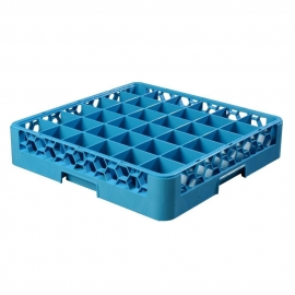 "CARLISLE GLASS RACK BASE, 36 COMPARTMENT, 4"" H (EACH)"