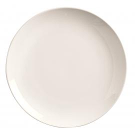 """WTI PLATE, 7.25"""", BRIGHT WHITE, COUPE / NO RIM - 36 PER CASE"""