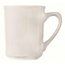 WTI CUP / MUG, 8.5 OZ, KONA, BRIGHT WHITE - 36 PER CASE