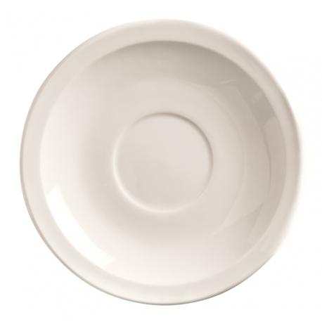 SAUCER, 4.75 BRIGHT WHITE,