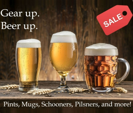 Gear up. Beer up.